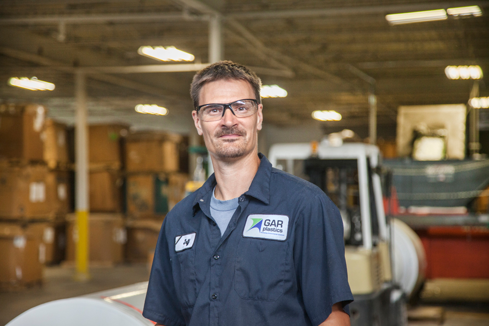 GAR Plastics - Jeff Damaske - Third Shift Supervisor - GAR Staff