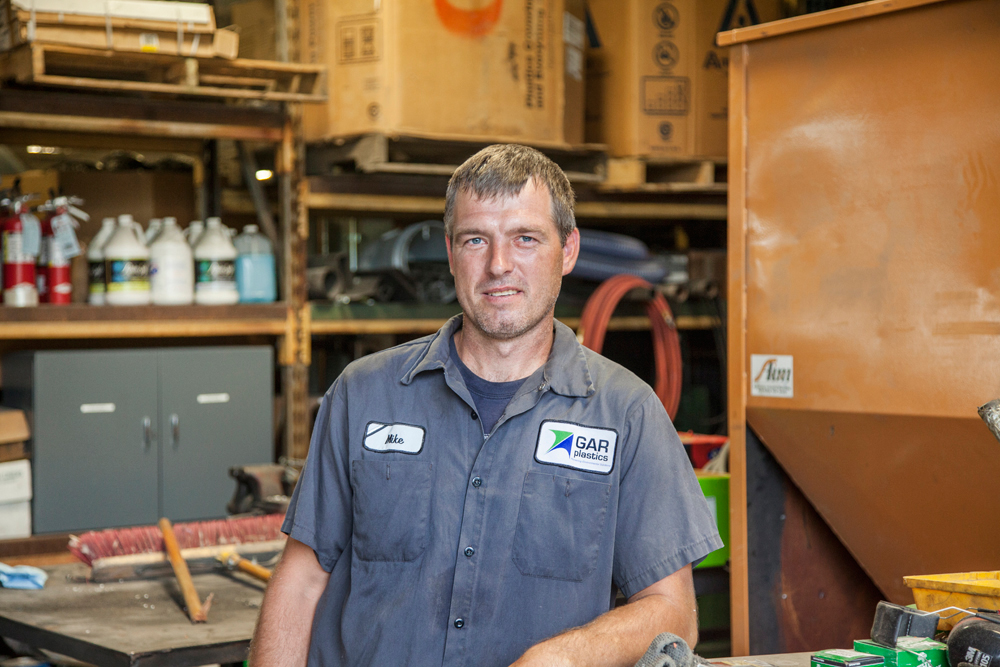 GAR Plastics - Michael Neu - Maintenance - GAR Staff
